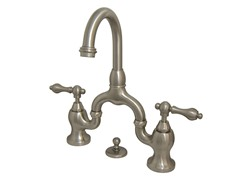English Country Faucet, Nickel