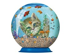270Pc Kitty Entertainment 3-D Puzzle Ball