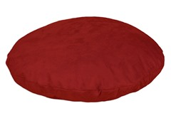 "Passion Suede Cinnabar 36"" Round Pet Bed"