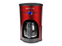 Kalorik 12-Cup Coffeemaker - Red