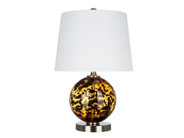 Ravenna Home Spherical Glass Table Lamps