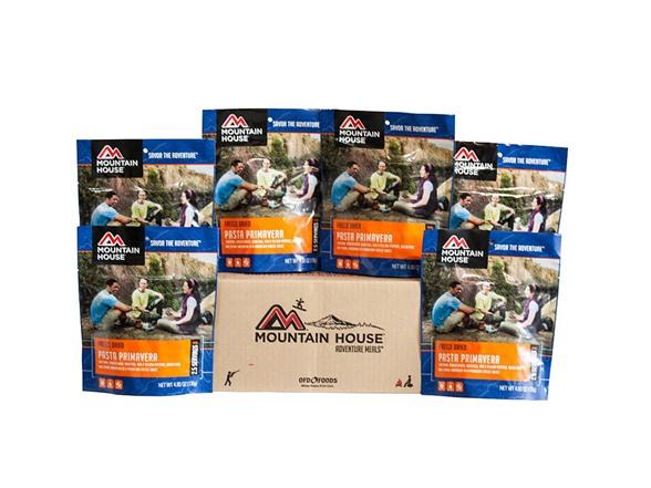 Mountain House Freeze Dried Food Case Packs