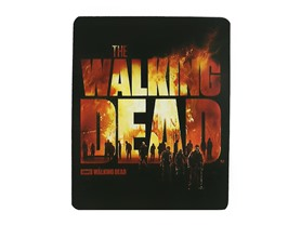 Walking Dead Fleece Throw - Burning Logo