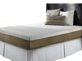 "Simmons Curv™ 10"" Gel Memory Foam Mattresses-Choose Firmness"