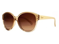Polarized Allegra Sunglasses, Nude