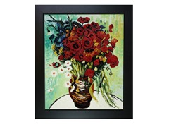 Van Gogh - Vase with Daisies and Poppies