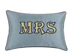 "12.5x19 Navy ""MRS"""