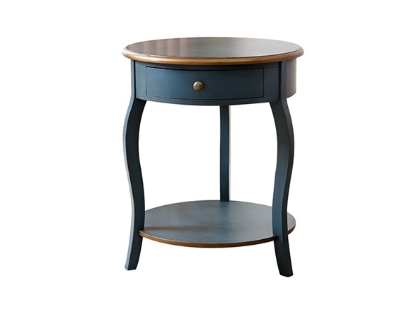 Sara round wood end table for 12 inch round side table