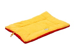 Pet Life Reversible Ped Bed - Orange