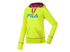 Fila Performance Hoody - Yellow/Pink