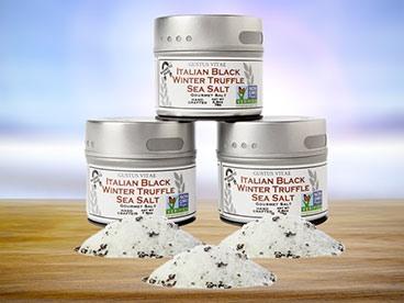Gustus Vitae Italian Black Truffle Salts