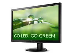 "27"" 1080p Ergonomic LED Monitor with DisplayPort"
