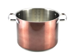 Kevin Dundon 8 QT Stock Pot Copper