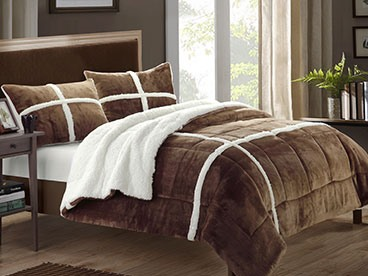 Sherpa Bedding & Throws