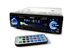 In-Dash 200W CD Receiver w/USB