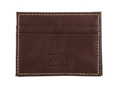AVI-8 Magic Wallet, Natural Brown