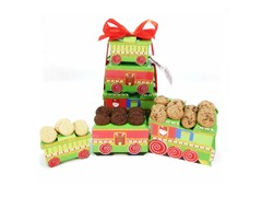 Train Tower with Cookies - 3 Flavors