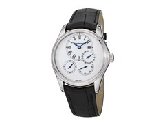 Women's Bressel SS Case White Dial Black Leather