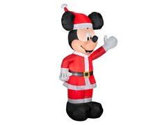 Airblown Mickey Santa