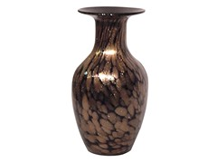 Dale Tiffany Gold Speckle Vase