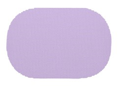 "Kraftware 18x12"" Fishnet Oval Placemat 4 Colors"