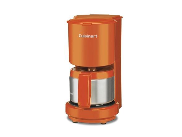 4 Cup Coffee Maker Portable : Cuisinart 4 Cup Coffee Maker, Orange