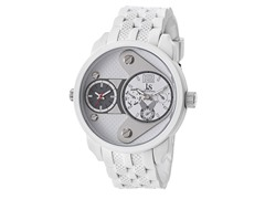 Dual Time Chronograph, White