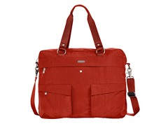 Baggallini Executive Satchel, Tomato