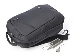 Power Backpack with Removable 6600 mAh Battery