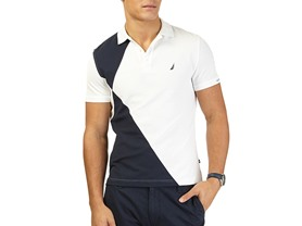Nautica Pieced Polo - 3 Colors