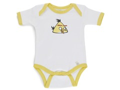Yellow Angry Bird Infant Bodysuit