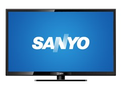 "SANYO 24"" 720p LED HDTV"