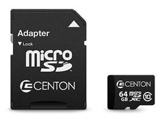 64GB Class 10 microSD Card with Adapter
