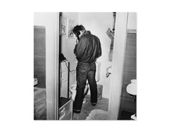 James Dean in Restroom