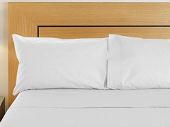 800TC Sheet Set - White - 2 Sizes