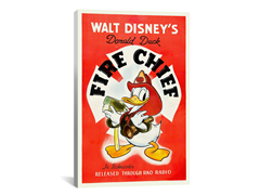 "Disney's Donald Duck ""Fire Chief"""