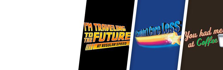 Texty T-Shirts