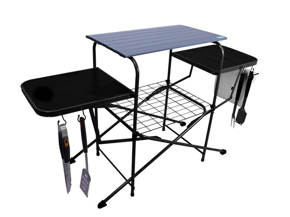outdoor folding grilling table - Outdoor Folding Table