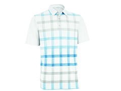 Performance Double Knit Golf Shirt - White