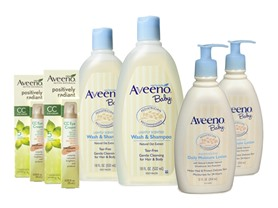 Aveeno Mom & Baby 6 Piece Bundle