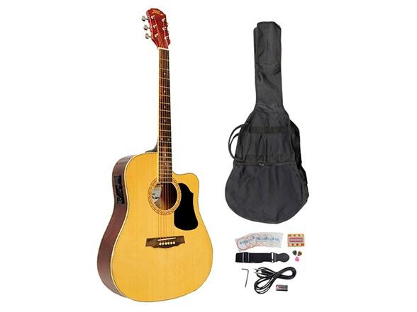 41 acoustic electric guitar kit. Black Bedroom Furniture Sets. Home Design Ideas