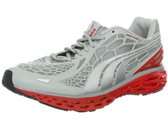 Puma Men's Bioweb Running Shoe-Wht/Red