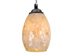 1-Light Mosaic Mini Pendant, Chrome
