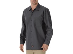 Long Sleeve, One Pocket - Graphite