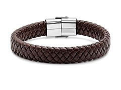 Steel Time Men's Leather Bracelets - Your Choice