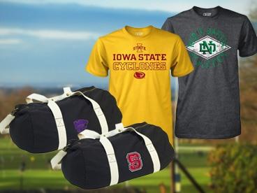 Collegiate Tees & Bags