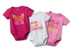 """Butterfly"" Bodysuit 3-Pack"