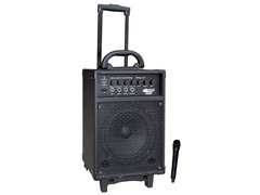 300W VHF Wireless Battery Powered PA System w/ Echo