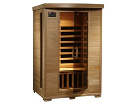 Radiant 2-Person Hemlock Infrared Sauna