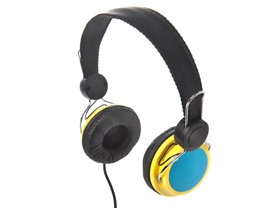 Lifestyle Headphones - Blue/Yellow